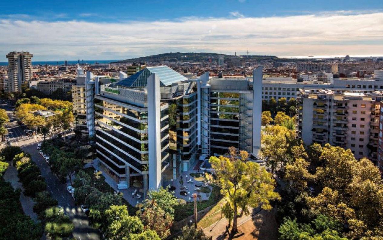 edificios diagonal barcelona