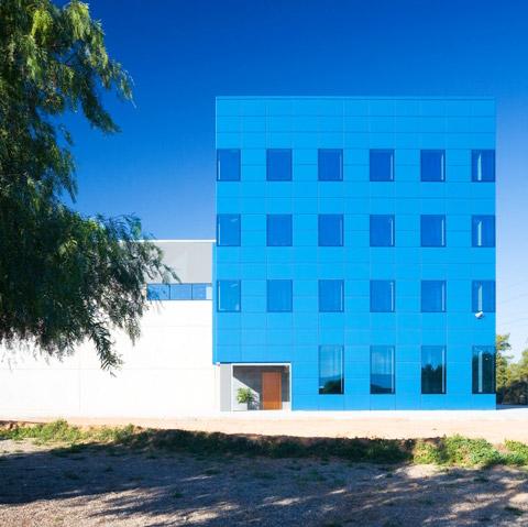 Sabemsa edificio azul